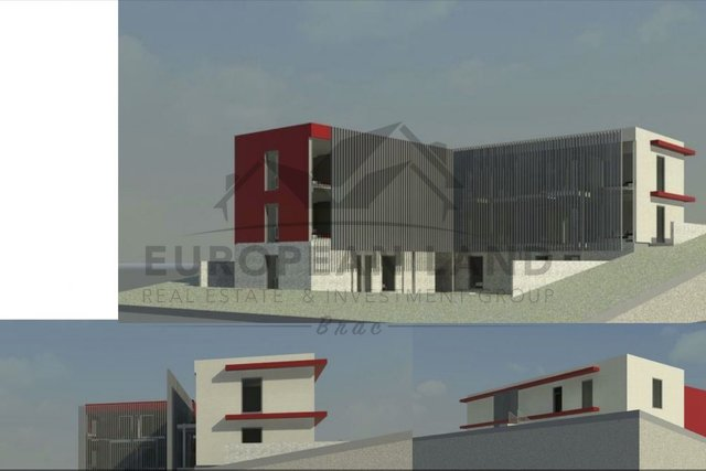 Project for hotel in Milna