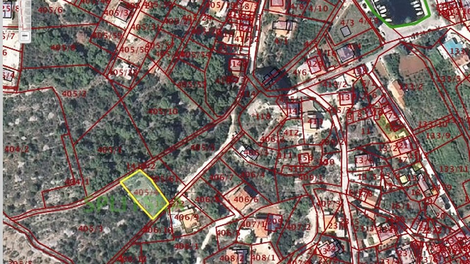Grundstück, 673 m2, Verkauf, Splitska